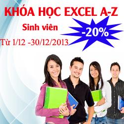 Khóa học Tin văn phòng Excel