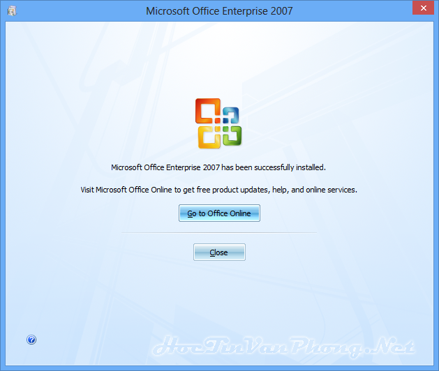 Cách cài Office 2007 - B6