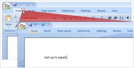 Ẩn tạm thời Menu trên giao diện Word 2007