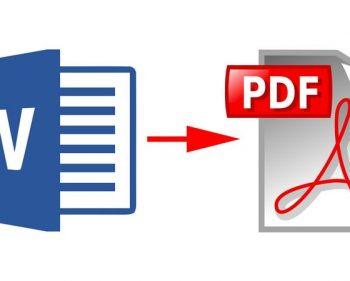 Thủ thuật chuyển file Word sang Pdf nhanh nhất