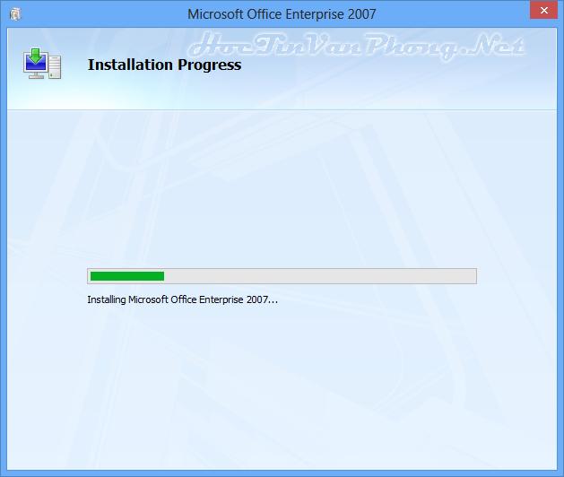 Cách cài Office 2007 - B5