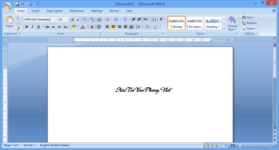 Cách cài Office 2007 - New Document